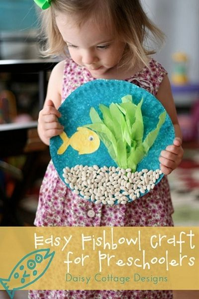 Under The Sea Kids Crafts ~ @Kathy Chan Chan Chan Chan Chan Copley Caywood MOM! We should do this with the kids!
