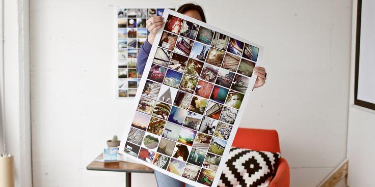 Instagram Poster | Social Print Studio