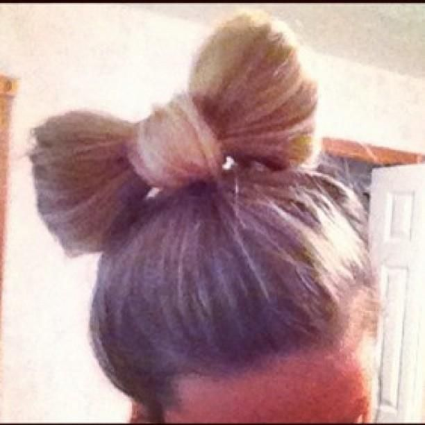 25+ Best Ideas About Bow Hairstyles On Pinterest