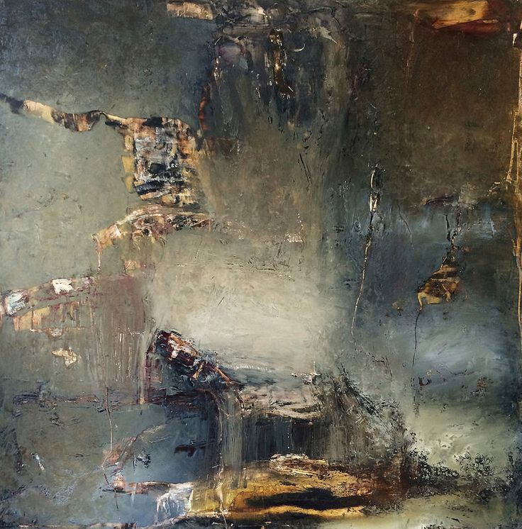 Chorus Of One, by Jeane Myers mixed media on panel, 30x30 www.jeanemyers.com