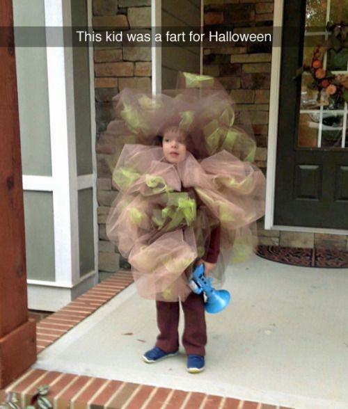 fart costume. yes i still think farts are hilarious.