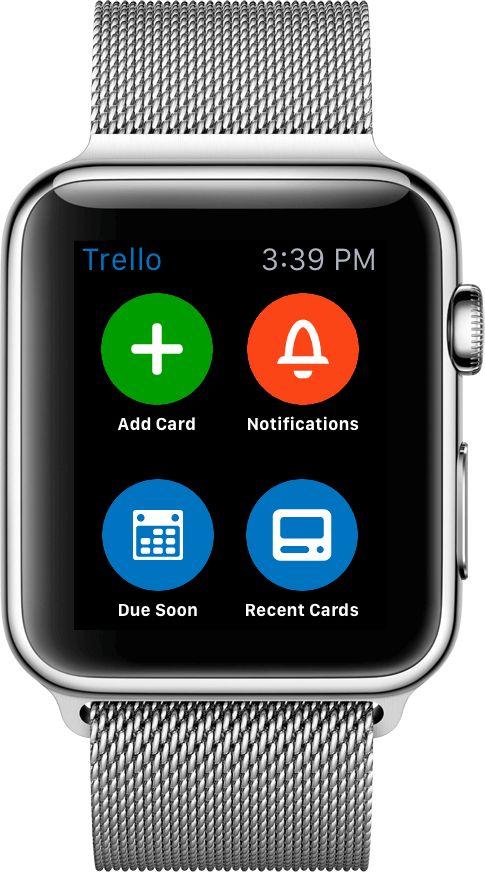 TrelloWatchChecklistsDemo Apple watch apps, Apple