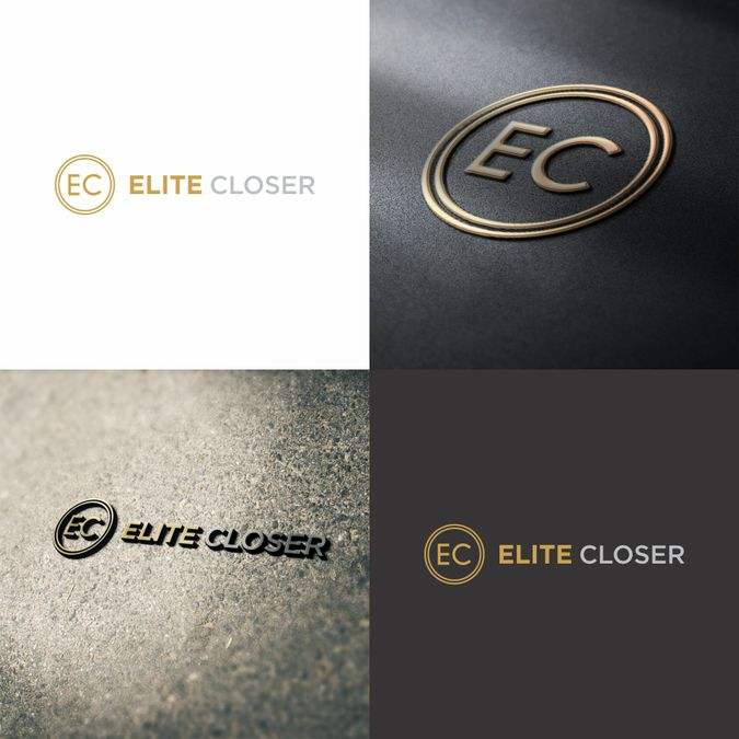 Design a modern, clean, and luxury oriented logo for our Sales Training Program - Elite Closer by Sherlock ♥