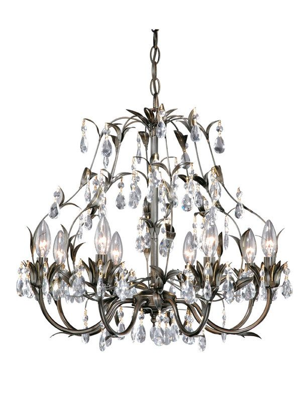 View the Laura Ashley HLVH0884 Lavenham 8 Light Chandelier at LightingDirect.com.