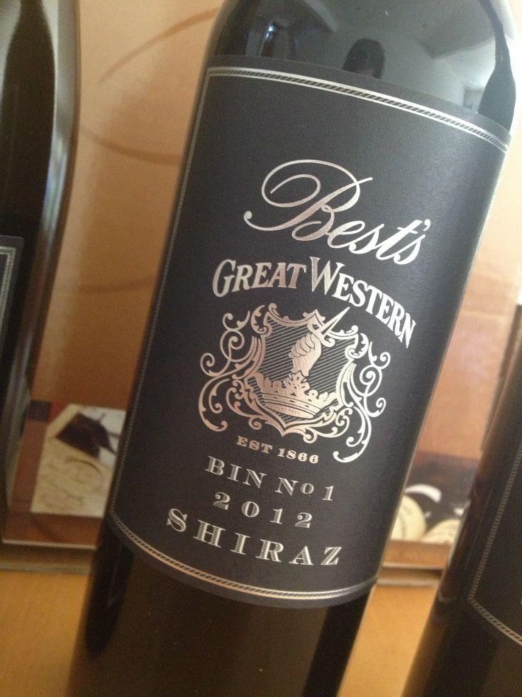Loving the 2012 @Best's Great Western Bin 1 Shiraz - #aussiewine #shiraz #aussiewine www.bestswines.com