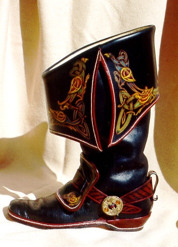 Reproduction Cavalier Boots.  Beautiful workmanship.