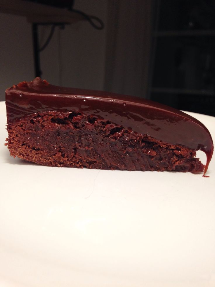 Lakrits & chokladfudgekaka