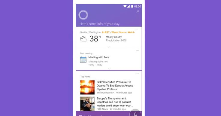 Microsoft finally launches Cortana apps for Android and iOS in the U.K.