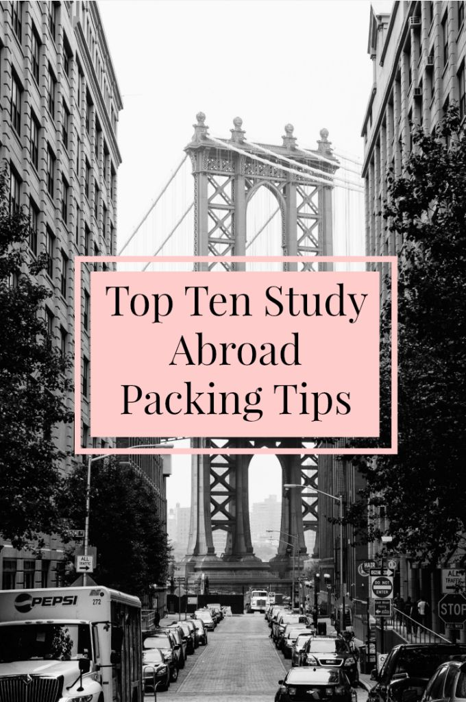 Smart Packing Tricks That Will Make Your Trip So Much Easier Top Ten Study Abroad Packing Tips
