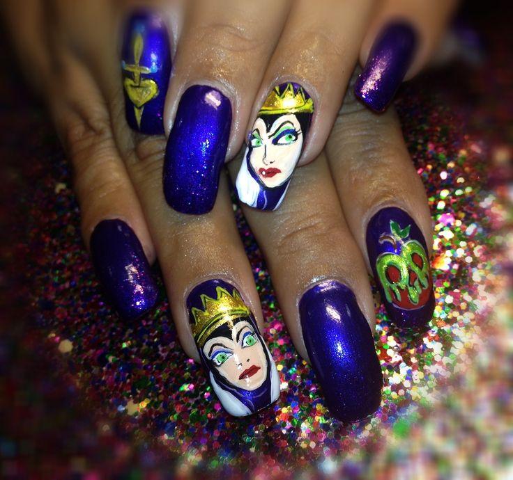 Nail Designs Snow White: Mirror more nail art and ideas. Top nail ...