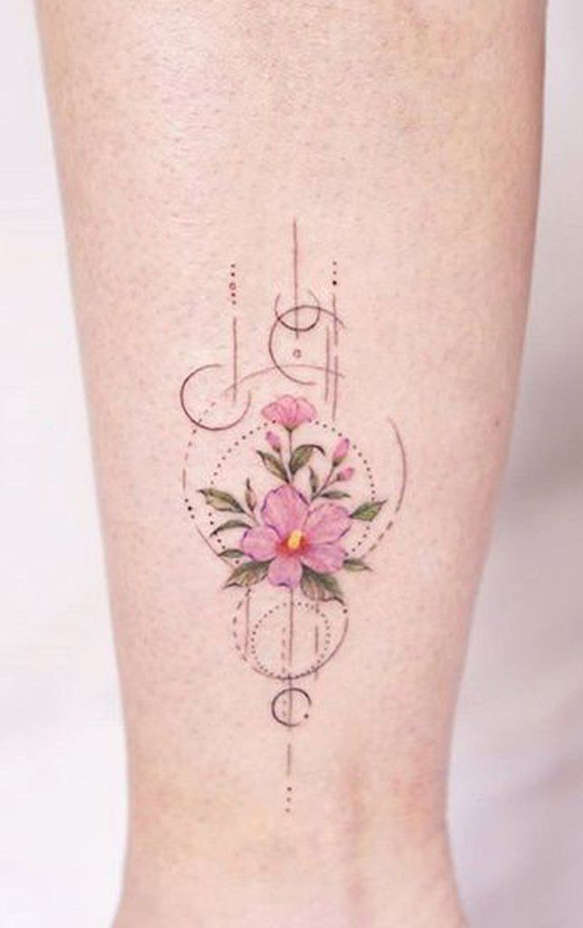 100 Trending Watercolor Flower Tattoo Ideas For Women Flower