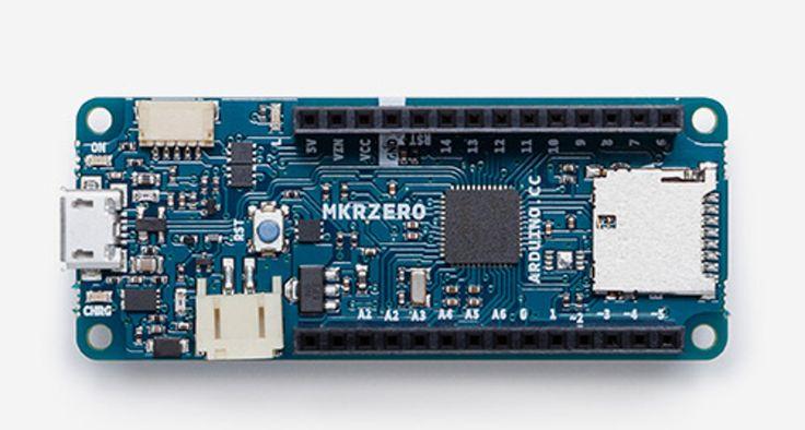 MKRZero, una nueva placa Arduino para los proyectos educativos - http://www.hwlibre.com/mkrzero-una-nueva-placa-arduino-los-proyectos-educativos/