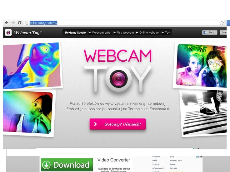 Co to jest Webcam Toy?