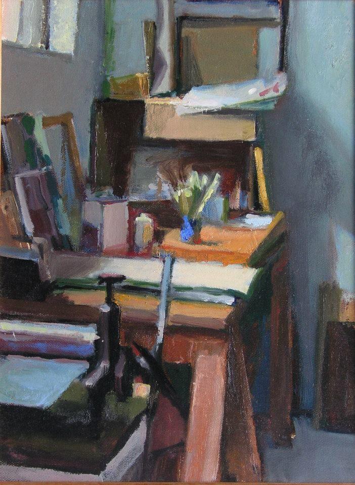 Oil Painting Inscrption Bennett