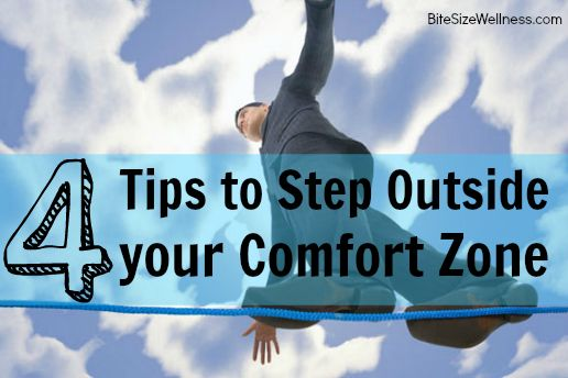 4 Ways to Get Outside Your Comfort Zone