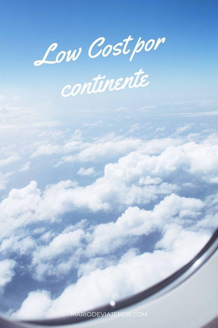 Aerolineas Low Cost Por Continente En 2020 Aerolineas Guia De Viaje Temas De Viaje