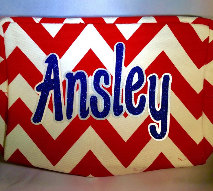 Chevron cosmetic bag, Chevron make up bag, Bag for cheerleaders, Game day, Competitions, cosmetic bag, chevron cosmetic bag, personalized by MommasCreations4you on Etsy https://www.etsy.com/listing/253482603/chevron-cosmetic-bag-chevron-make-up-bag