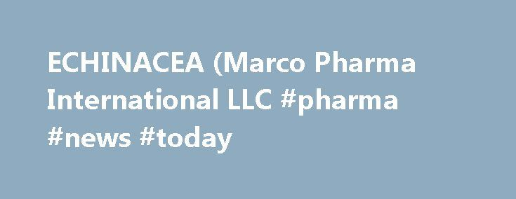 ECHINACEA (Marco Pharma International LLC #pharma #news #today http://pharmacy.remmont.com/echinacea-marco-pharma-international-llc-pharma-news-today/  #marco pharma # ECHINACEA Dosage form: tablet, orally disintegratingIngredients: ECHINACEA ANGUSTIFOLIA 1[hp_X], HAMAMELIS VIRGINIANA ROOT BARK/STEM BARK 2[hp_X], TRIBASIC CALCIUM PHOSPHATE 3[hp_X], GOLDENSEAL 4[hp_X], POLYGALA SENEGA ROOT 4[hp_X], SILICON DIOXIDE 4[hp_X], CONIUM MACULATUM FLOWERING TOP 4[hp_X], SODIUM TETRACHLOROAURATE…
