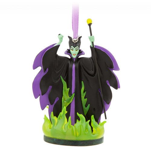 Your holiday sketchbook ornament collection will not be complete without the evil fairy Maleficent from Sleeping Beauty. She'll cast a lasting spell upon the family tree.