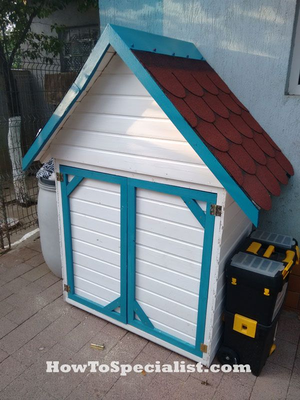How to build a tool shed plans howtospecialist how to for Tool shed plans