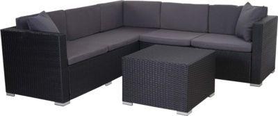 heute-wohnen Poly-Rattan Sofa-Garnitur ROM Basic, Sitzgruppe Lounge-Set Jetzt bestellen unter: https://moebel.ladendirekt.de/garten/gartenmoebel/loungemoebel-garten/?uid=391efb8f-319f-5427-9cd8-829381c6d4e0&utm_source=pinterest&utm_medium=pin&utm_campaign=boards #loungemoebelgarten #garten #gartenmoebel