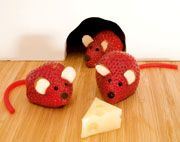 strawberry mice