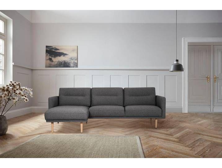 andas Polsterecke »Brande«, in skandinavischem Design, grau