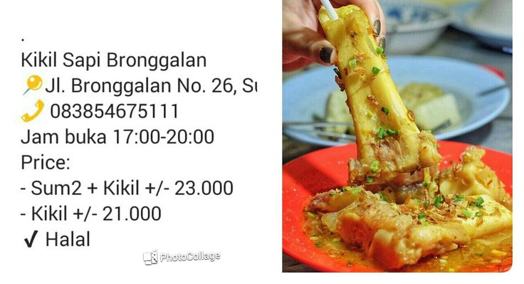 Kikil sapi Surabaya tak ada matinya, lezaat..