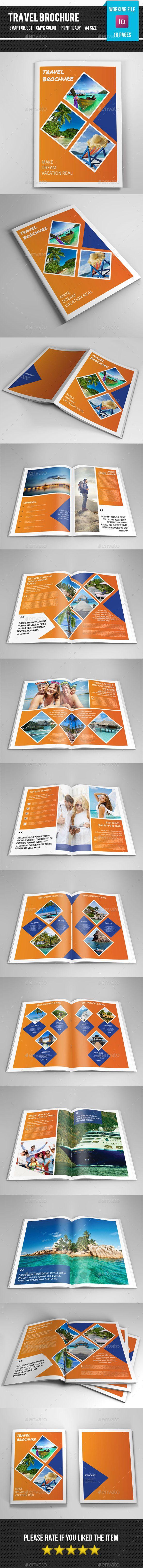 Travel Brochure/Catalog - Corporate Brochure Template InDesign INDD. Download here: http://graphicriver.net/item/travel-brochurecatalogv245/11401568?s_rank=1752&ref=yinkira