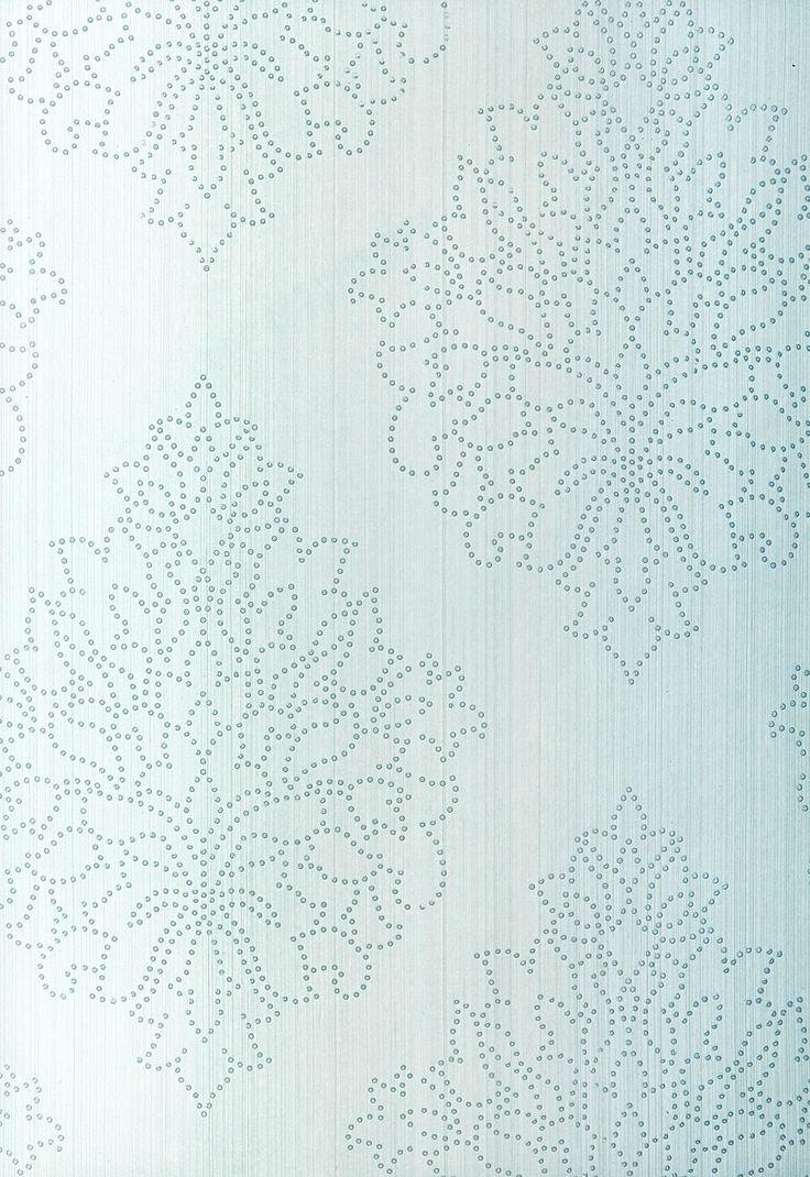 Beaded Damask Wallpaper   Modern Glamour Wallpaper   Schumacher Wallpaper Australia