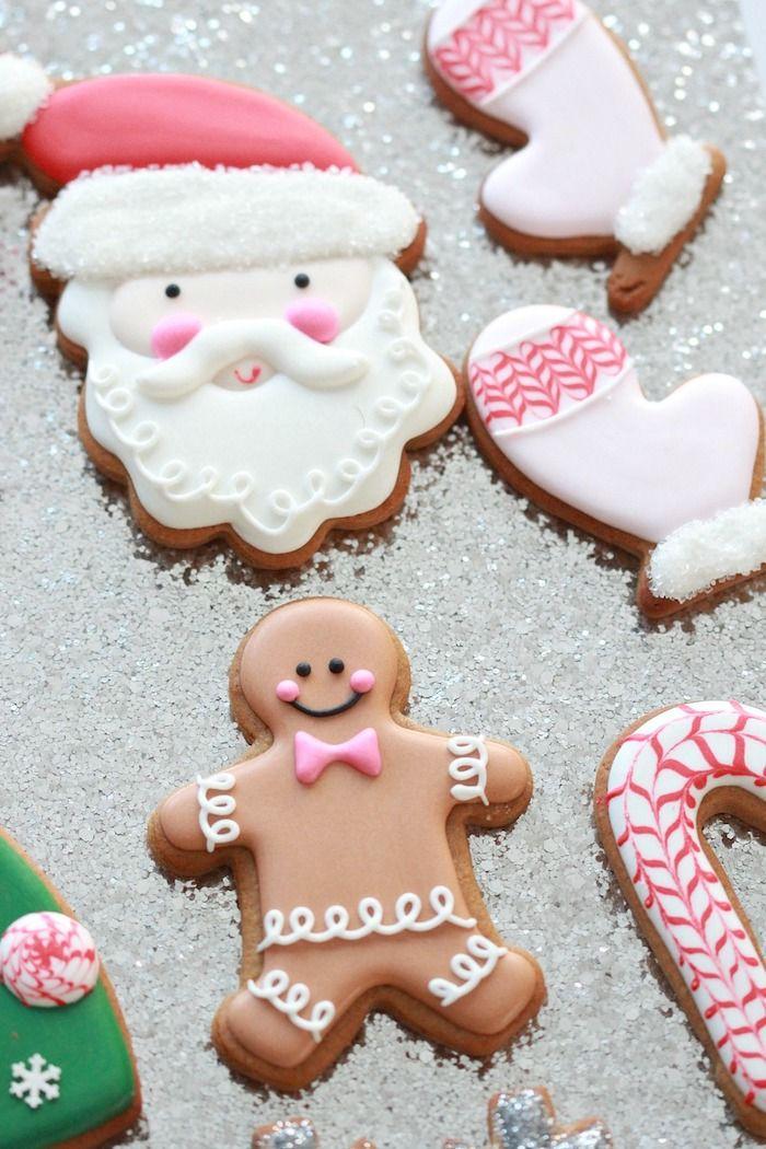Glasur Weihnachtsplätzchen.1001 Originelle Ideen Wie Sie Plätzchen Verzieren Geschenke