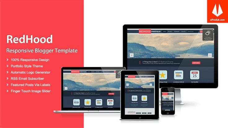 Responsive Blogger Template v8 Responsive Blogger Template v8 Red hood is a super stylish, responsive, perfect quality, super elegant, premium design blogger theme ideal for blogs or web.