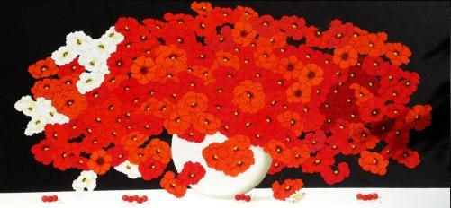 """Mirabiliashop.com introduce Luciano Chinaglia Artist from Venice and his revalued Neoclassicism...famous for his """"Red Poppies"""". Visit Chinaglia Art Studio by link: http://www.mirabiliashop.com/studio%20chinaglia%20inglese.htm"""