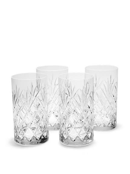 Set of 4 Jardin Highball Glasses