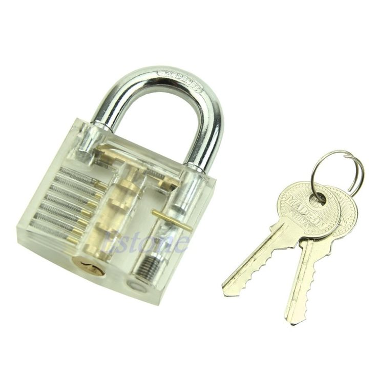 Hot Pick Cutaway Inside View Padlock Lock For Locksmith Practice Training Skill   Price: US $5.69   http://www.bestali.com/goto/32389043679/10