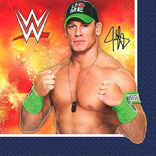 WWE Beverage Napkins [16 per Pack]