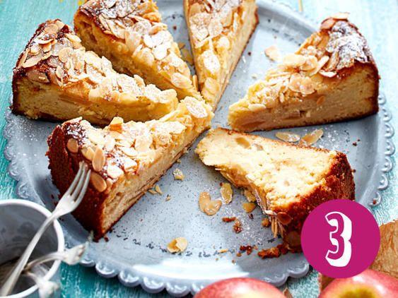 5 Kuchen ohne Mehl: z.B. Ricotta-Mandel-Kuchen