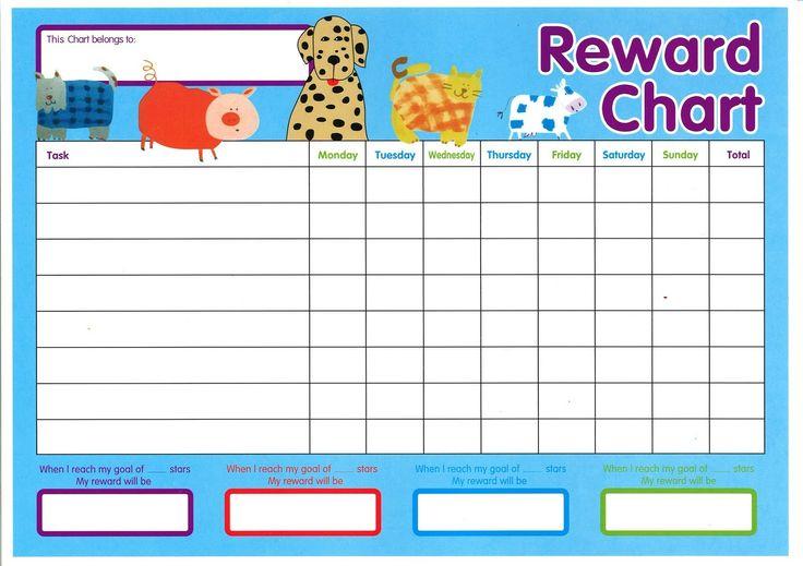 Printable Reward Charts for Kids | Activity Shelter