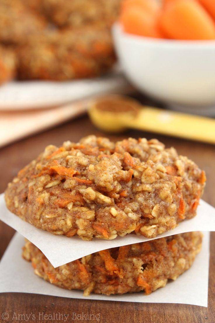 Carrot Cake Oatmeal Cookies/GF