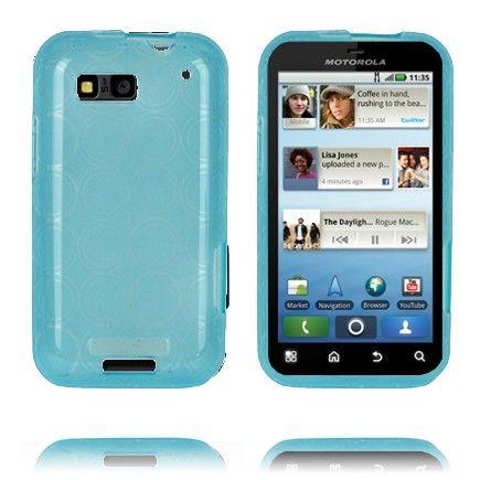 Amazona (Sininen) Motorola Defy Silikonisuojus