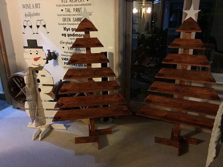 Pallet juletræ
