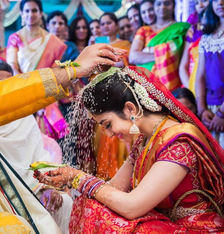 My beautiful bride Nitya on her big day...the most enjoyable moments of the wedding  loved it! 09 August 2016