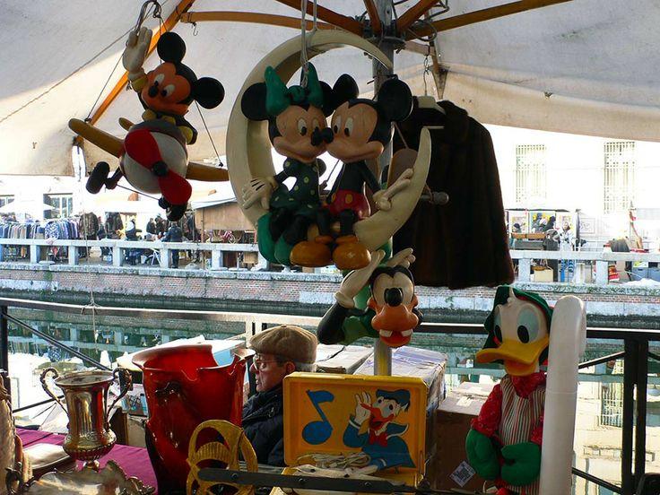 Disney al Mercatone dell'Antiquariato dei Navigli.