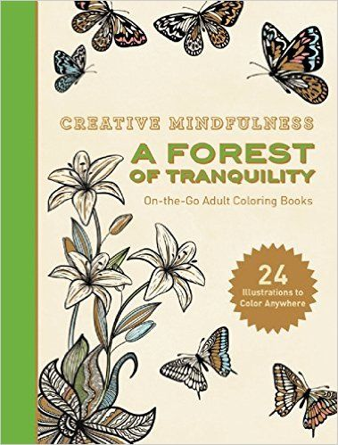 Amazing Publishing A Coloring Book 16 Creative Mindfulness A Forest