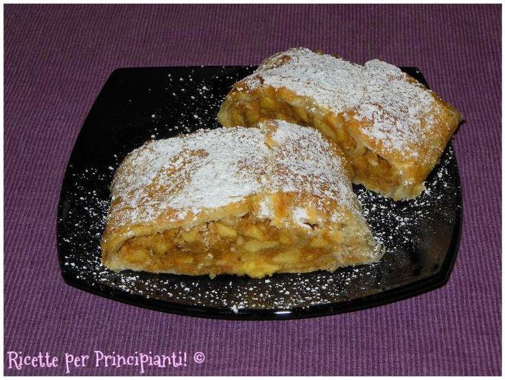 Ricette per Principianti!: Strudel di mele vegano (con zucchero integrale di canna)