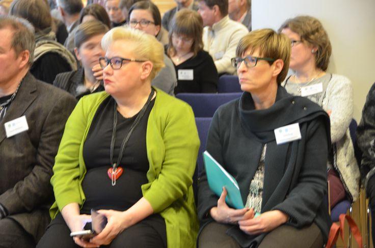 Europarlamentaarikko Sirpa Pietikäinen ja yhdenvertaisuusvaltuutettu Kirsi Pimiä toivat tuoreita näkökulmia ympäristösovittelun kehittämiseen.