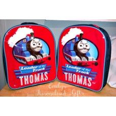 Lovely and Personalised Thomas backpack £9.00 plus p+p (Personalised with fabric paint and covered in a fixing solution)