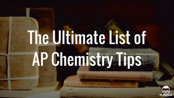 Studying for the AP Chemistry exam can seem scary. Fortunately, this ultimate list of 50 AP Chem tips will make studying for the exam a breeze!