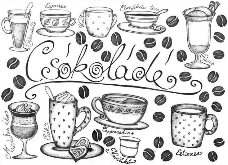 ...ha egyszer lesz egy kávéházam... /...if I will have a coffeehouse...   Coffee, art, Latte, Cappucchino, cocoa, whipped cream, coffee bean, espresso, mug, cap