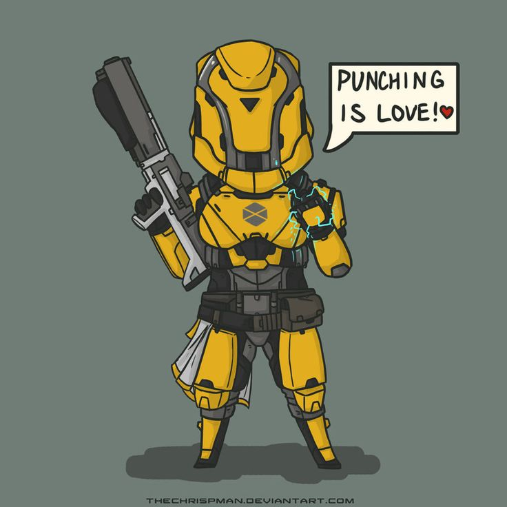 Destiny- Cute Lady Titan by TheChrisPMan on DeviantArt